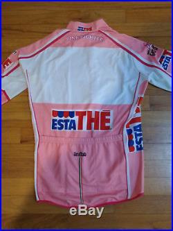 Race Issue Maglia Rosa Giro dItalia Long Sleeve Leader Jersey Santini Medium