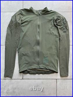 Rapha Aero Jersey Long Sleeve M Medium Dark Green