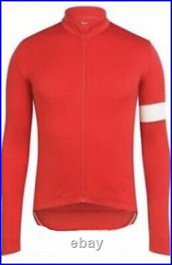 Rapha Archive Classic Long Sleeve Jersey II Dark Orange Size M