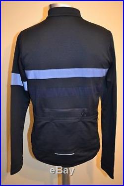 Rapha BREVET Long Sleeve Jersey Dark Navy Blue Size L BNWT