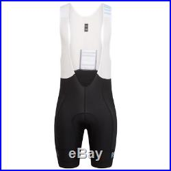 Rapha Black/Blue Pro Team Lightweight Bib Shorts Long. Size XXL. BNWT
