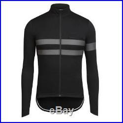 Rapha Black Long Sleeve Brevet Jersey. Size M. BNWT