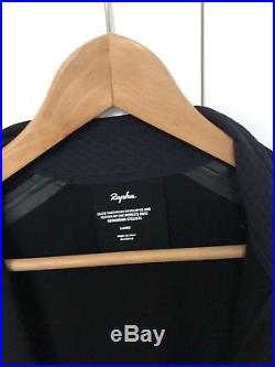 Rapha Black Long Sleeve Shadow Jersey. Size Large