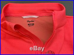 Rapha Brevet Long Sleeve Jersey High-Vis Pink Medium Brand New With Tag