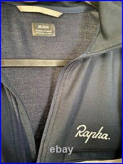 Rapha Brevet Long Sleeve Jersey Mens Medium DARK BLUE