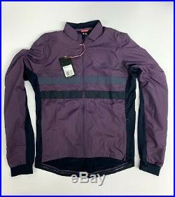 Rapha Brevet Long Sleeve Wind Block Jersey Purple Mens Large New