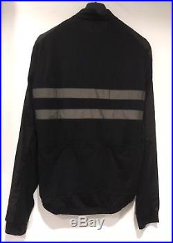 Rapha Brevet Long Sleeve Windblock Jersey Black Medium BNWT