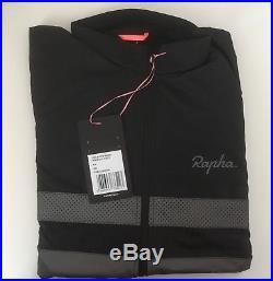 Rapha Brevet Long Sleeve Windblock Jersey Black Small BNWT