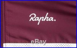 Rapha Brevet Long Sleeve Windblock Jersey Burgundy Large BNWT