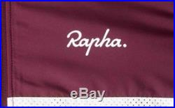 Rapha Brevet Long Sleeve Windblock Jersey Burgundy Medium BNWT