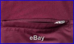 Rapha Brevet Long Sleeve Windblock Jersey Burgundy Small BNWT