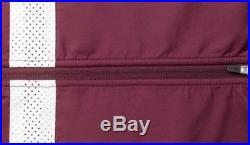 Rapha Brevet Long Sleeve Windblock Jersey Burgundy XL BNWT