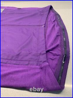 Rapha Brevet Long Sleeve Windblock Jersey Dark Purple X Large Brand New With Tag