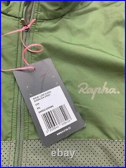 Rapha Brevet Long Sleeve Windblock Jersey Men's 2XL Dark Green New