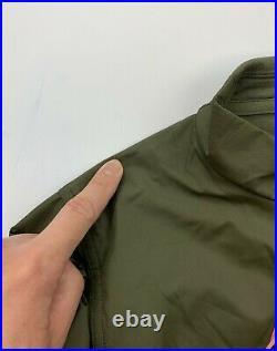 Rapha Brevet Long Sleeve Windblock Jersey Men's Medium Olive New