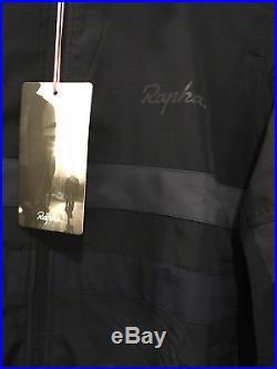 Rapha Brevet Long Sleeve Windblock Jersey Navy Blue Large BNWT