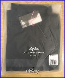 Rapha Brevet Long Sleeve Windblock Jersey Navy Blue Medium BNWT