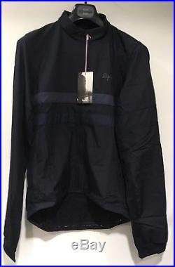Rapha Brevet Long Sleeve Windblock Jersey Navy Blue XL BNWT