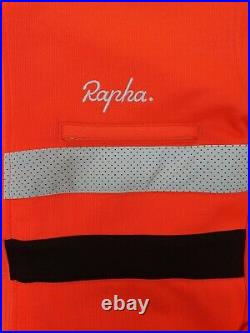 Rapha Brevet Long Sleeved Jersey in Coral, Large Rare Colour Great Condition