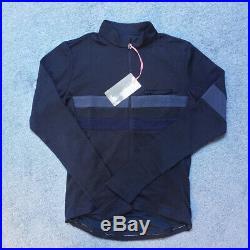 Rapha Brevet Long sleeve Jersey Dark Navy BNWT Size S
