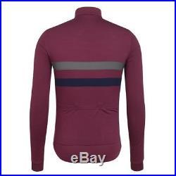 Rapha Brevet Windblock Jersey Long Sleeve Purple Size Medium BNWT