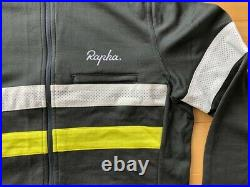 Rapha Brevet long sleeve cycling jacket jersey Gray Men M merino blend-excellent