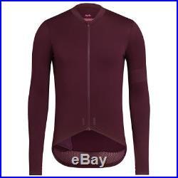 Rapha Burgundy Pro Team Long Sleeve Midweight Jersey. Size XL. BNWT