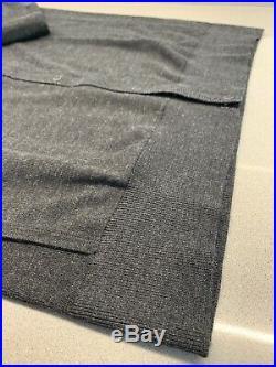 Rapha City Range Merino Snap Through Charcoal Size Medium Brand New With Tag