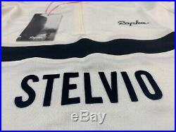Rapha Classic Long Sleeve Climbs Jersey White Black Medium Brand New With Tag