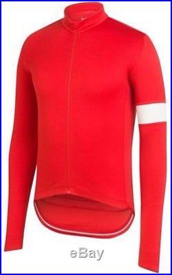 Rapha Classic Long Sleeve Jersey II Dark Orange BNWT Size M