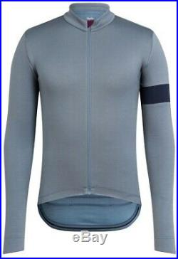 Rapha Classic Long Sleeve Jersey II Grey Blue Size L