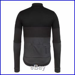 Rapha Classic Long Sleeve Tricolour Jersey Black Size Medium BNWT