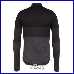 Rapha Classic Long Sleeve Tricolour Jersey Black Sizes Medium & Large BNWT