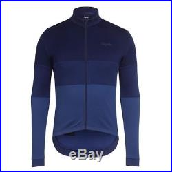 Rapha Classic Long Sleeve Tricolour Jersey Navy Blue Size Medium BNWT