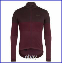 Rapha Classic Long Sleeve Tricolour Jersey Purple Size Medium BNWT