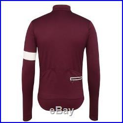 Rapha Classic Long Sleeved Jersey II Purple Size Medium BNWT