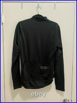 Rapha Classic Long sleeve jersey Large Black/black new with tags