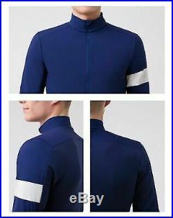 Rapha Classic WindBlock Winter Long Sleeve Navy Blue Cycling Jersey BNIB Sz Med
