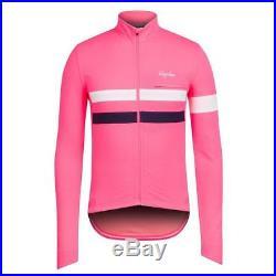Rapha Coral Long Sleeve Brevet Jersey Size Medium BNWT da850b10c