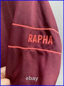 Rapha Cycling Pro Team Training Jersey Long Sleeve Black Size Large RCC