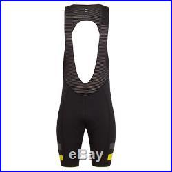 Rapha Dark Grey Brevet Bib Shorts II Long. Size Small. BNWT