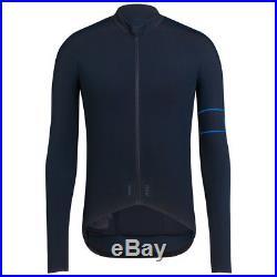 Rapha Dark Navy Pro Team Long Sleeve Thermal Jersey. Size Medium. BNWT
