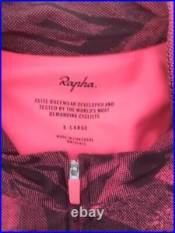 Rapha Graffiti Print Pro Team Long Sleeve Thermal Jersey XL