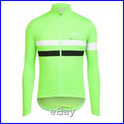 Rapha Green Long Sleeve Brevet Jersey. Size Medium. BNWT