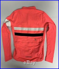 Rapha Long Sleeve Brevet Jersey Pink Size Medium New with Tags