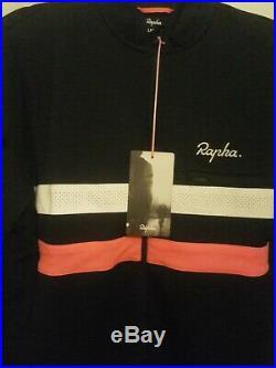 Rapha Long Sleeve Brevet Jersey Size L RRP £140