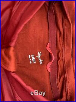 Rapha Long Sleeve Brevet Windblock Jersey Red Large Brand New With Tag