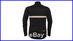 Rapha Long Sleeve Country Cycling Jersey Italy Black Size Large BNWT RARE
