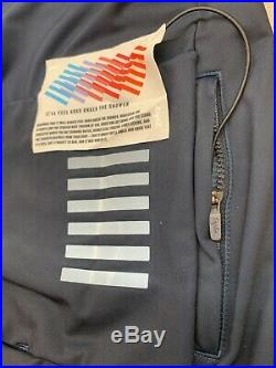 Rapha Long Sleeve Thermal Jersey Colourburn Large Grey Blue Navy New With Tag