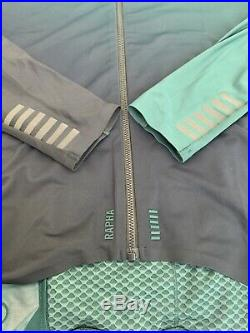 Rapha Long Sleeve Thermal Jersey Colourburn Medium Dark Green Black New With Tag
